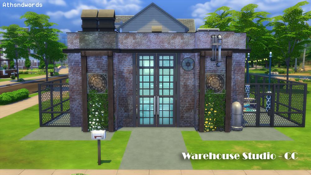 Athsndwords Sims 4 Designs: Warehouse Studio: Custom