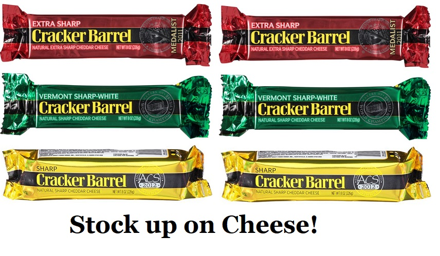 image regarding Cracker Barrel Coupons Printable called Cracker Barrel Bite Cheese Inventory Up at Tops (NO discount codes