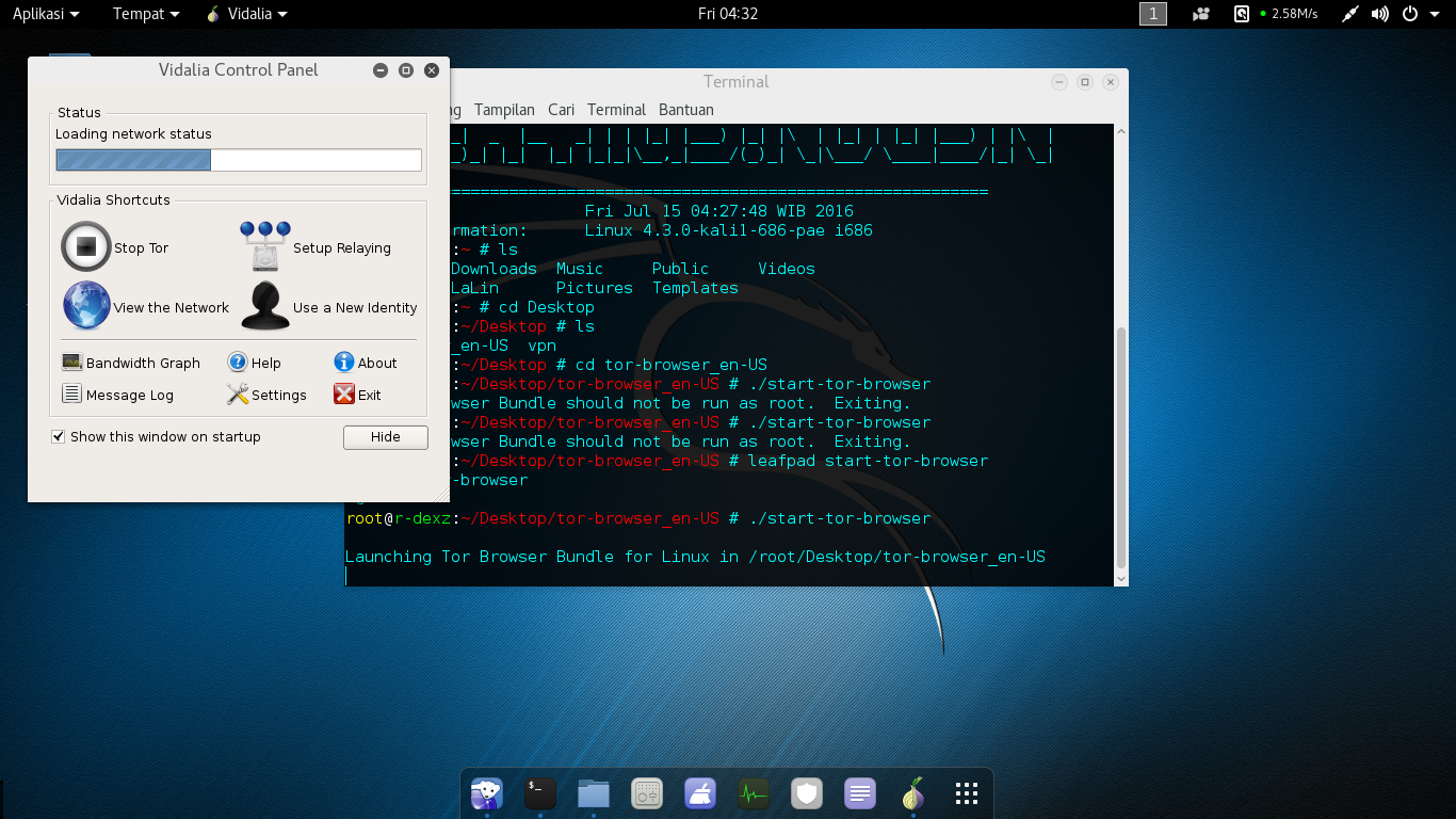 Tor browser for linux kali hydra darknet silk road гирда