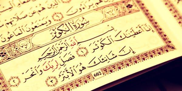 Fadhilah dan Keutamaan Surah Al-Kausar Serta Keutamaan Membaca Surah Al-Kausar