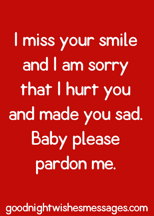 Sorry Messages For Boyfriend Sorry Quotes For Him Cute Quotes