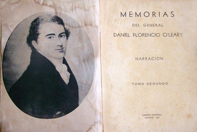 Resultado de imagen para El General Daniel Florencio O'Leary
