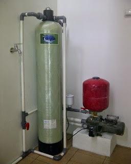 Pemasangan Filter Air Dr.Toya Tipe FRP 10 Di Bintaro