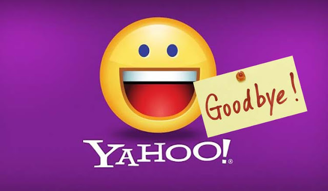 Good bye Yahoo!