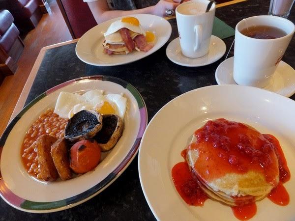 Stirling écosse scotland restaurant brunch frankie & benny's