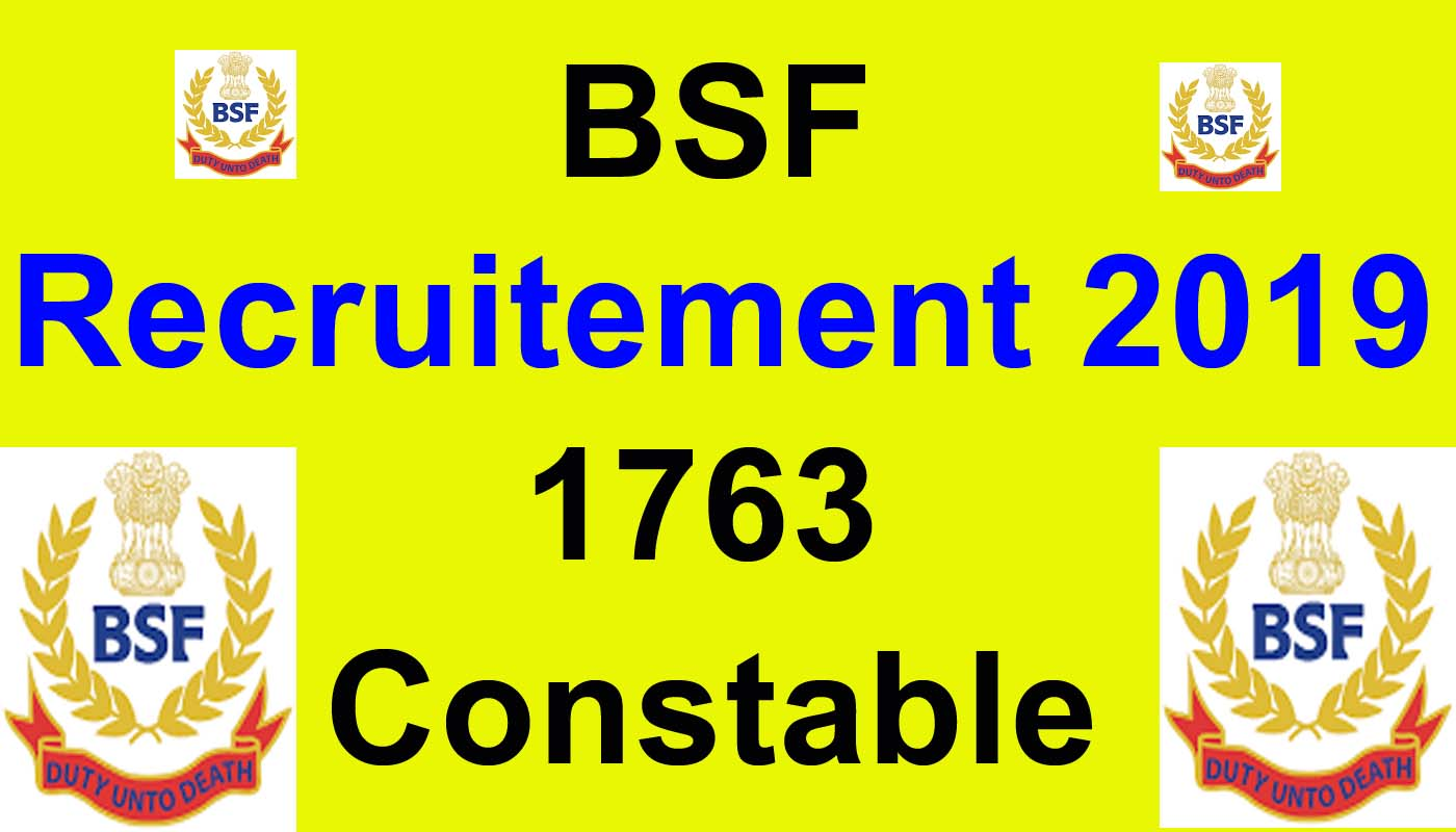 Image result for bsf recruitment 2019