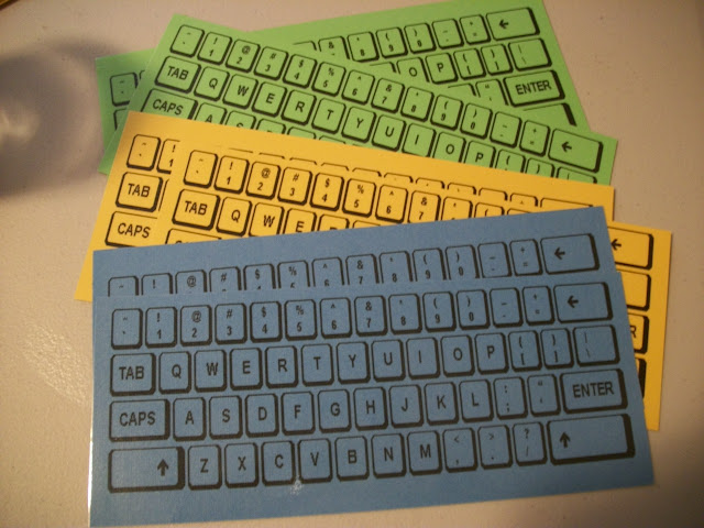 It is a picture of Printable Keyboards for qwerty