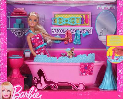 The Barbie Blog Barbie Baththime