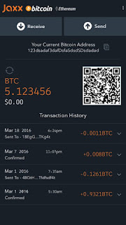jaxx wallet bitcoin