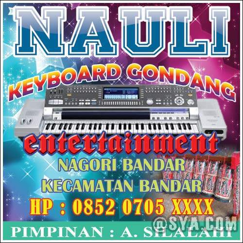 Contoh Spanduk Keyboard Dan Keyboard Gondang Sya Com