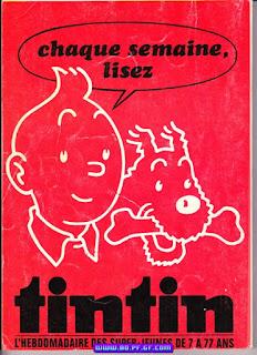 Tintin fascicule, recueil numéro 129, 1975/1976