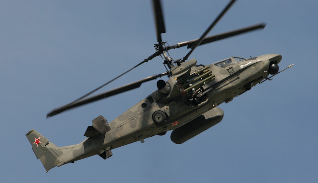 Kamov Ka-52 Alligator Russian