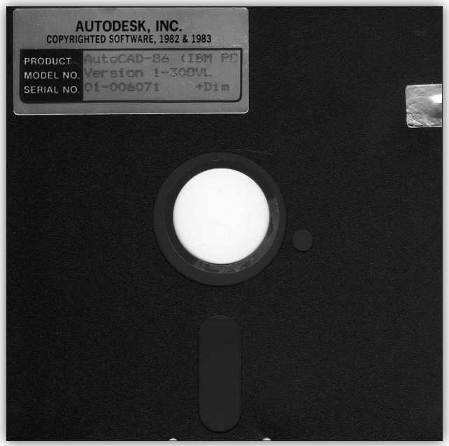 Autodesk History - Gallery of Product Images (Back to the Start 1983) b44ec0ff8863