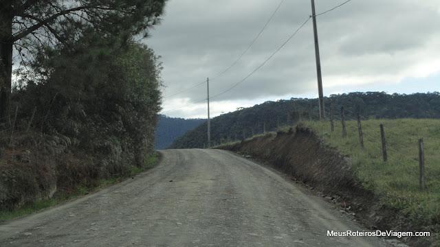 Estrada para o Morro do Campestre - Urubici/SC