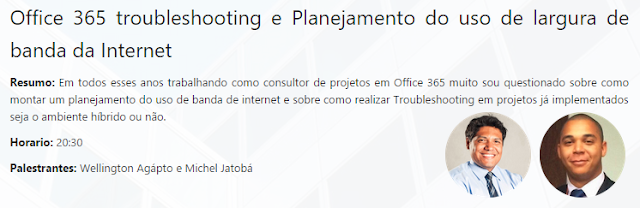 Treinamento gratuito de Office 365 | Troubleshooting e Planejamento do uso de largura de banda da Internet