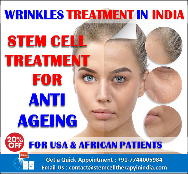 Stem Cell For Anti Ageing Treatment India