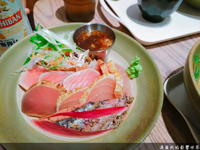哈客半敲燒 Lightly Roasted Fish Club with Rice