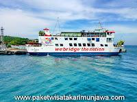Wisata Karimunjawa Kapal Feri Siginjai