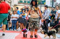 Concurso Miss y Mister Txakur en fiestas de Rontegi
