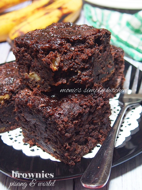 brownies pisang wortel
