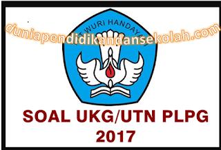 SIMULASI SOAL-SOAL UTN BERBASIS KUIS PLPG 2017
