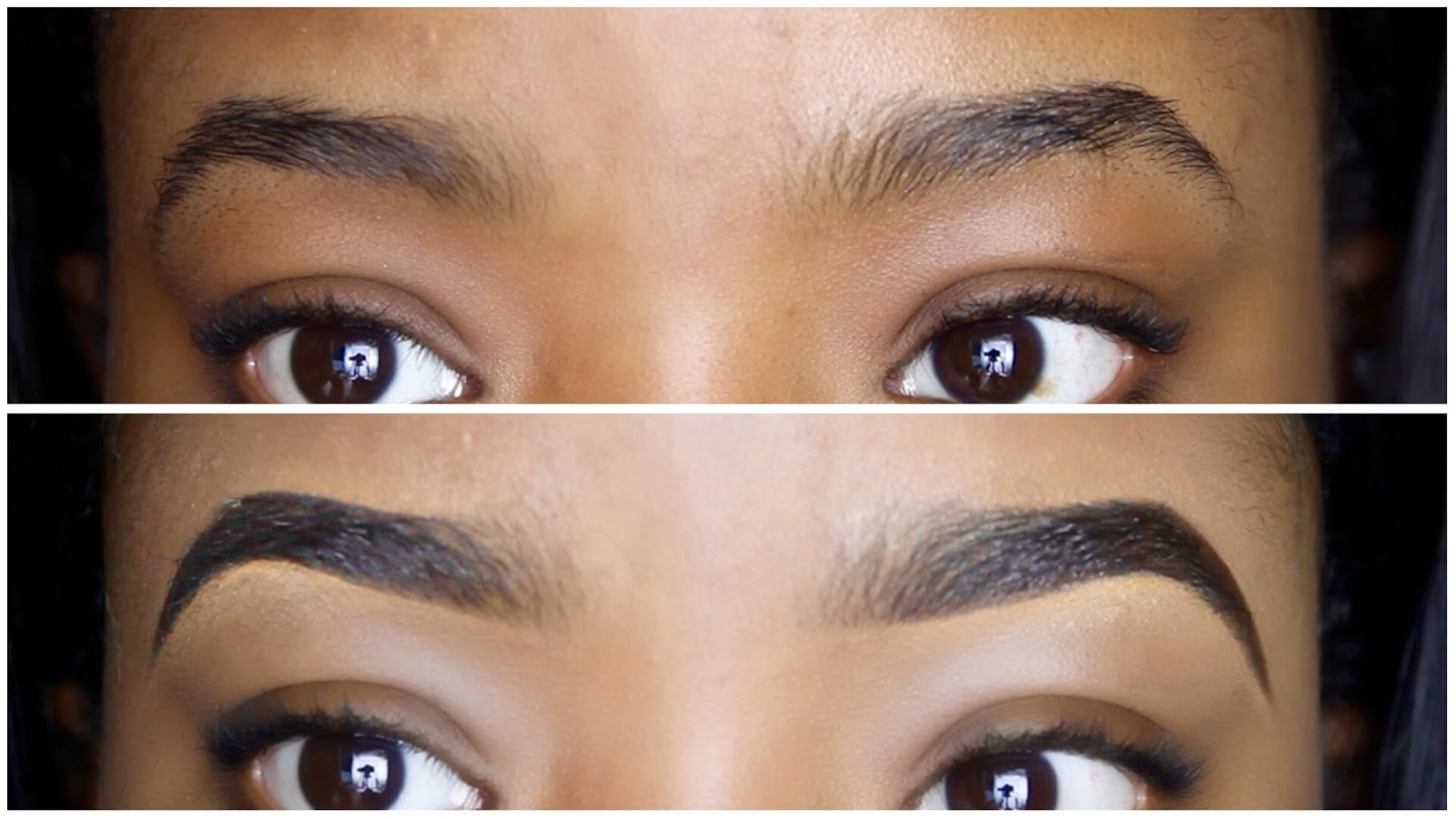 draw fleeky eybrows