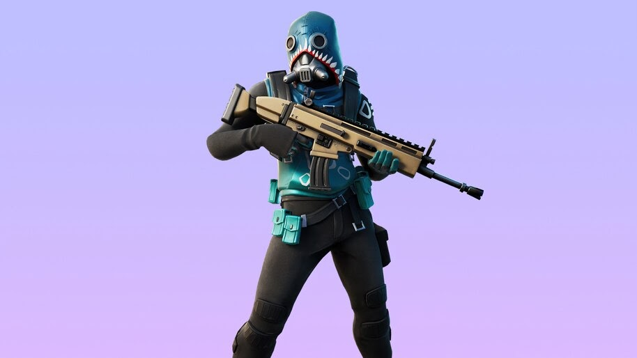 Bull Shark, Fortnite, Skin, Outfit, 4K, #7.878