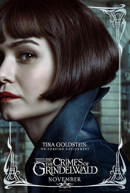 Pôsteres dos personagens de 'Os Crimes de Grindelwald' são divulgados | Tina Goldstein | Ordem da Fênix Brasileira
