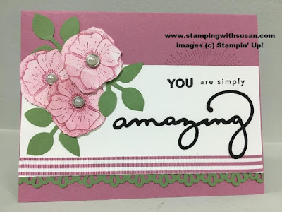 Stampin' Up! Amazing You Metal Rimmed Pearls Celebrate You Thinlits Leaf Punch Aqua Painter