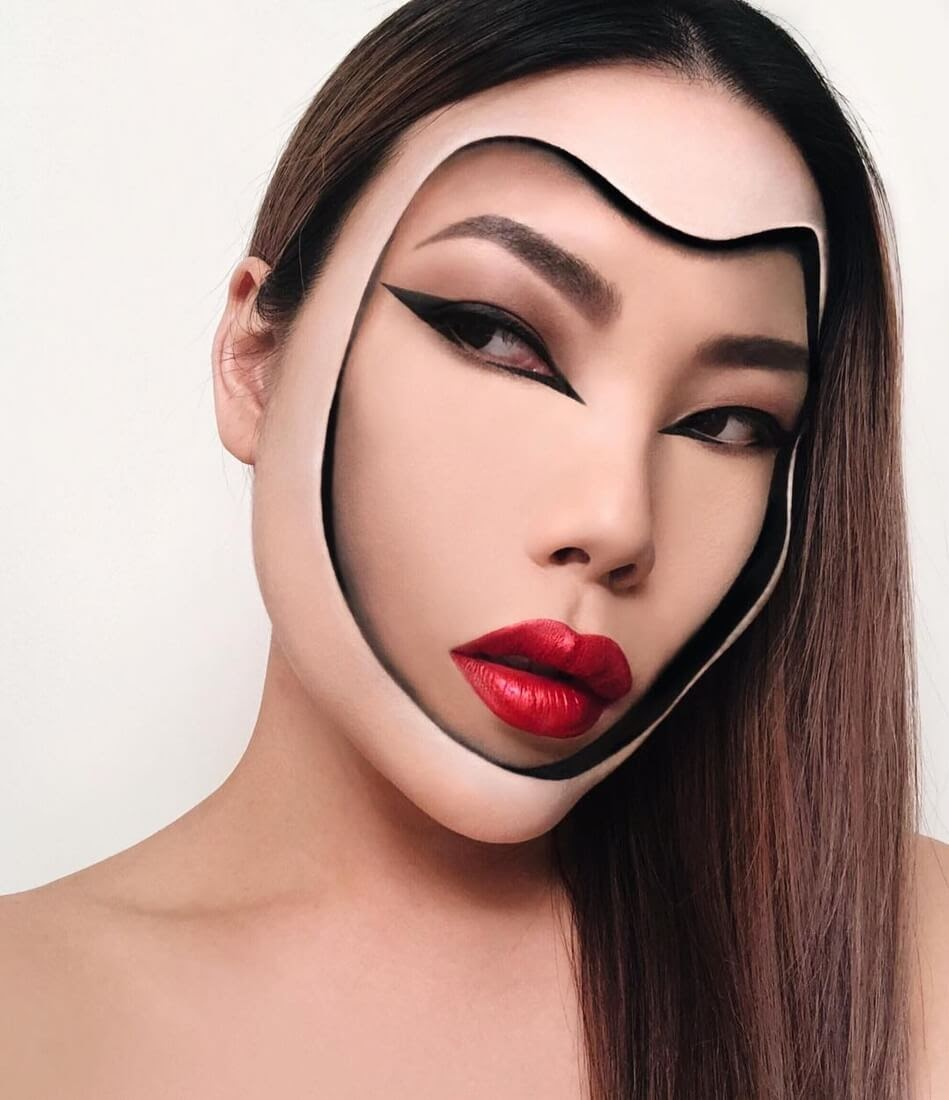 03-Face-Within-Mimi-Choi-Optical-Illusions-Body-Painting-Makeup-Effects-NO-Photoshop-www-designstack-co