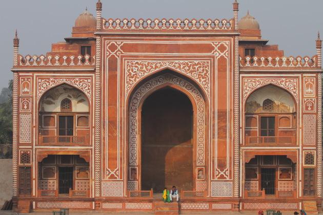 Durwaza of Itmad-ud-Daulah's Tomb or Baby Taj, Agra