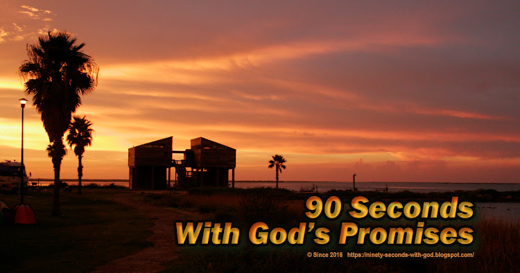 90 Seconds with God's Promises