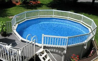 Fun Above Ground pool Ideas For Small Homes