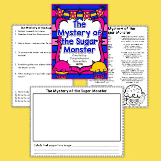 This FREE resource includes a fun poem you can use in partners and two activity sheets to go with it for comprheension and word work skills.
