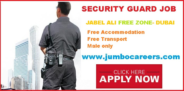 Security Guard Jobs Dubai Free Zone