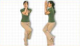 Yoga Posture Guide - The Eagle Pose (Garuda-asana)