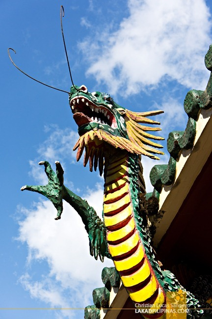 Baguio Bell Church Dragon