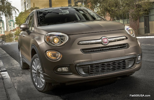 2016 Fiat 500X Lounge in Matte Bronze