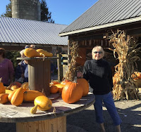 Beth at the Pumpkin Farm