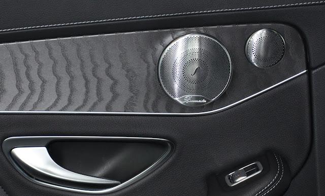 Mercedes C300 AMG trang bị Hệ thống loa Burmester, 13 loa