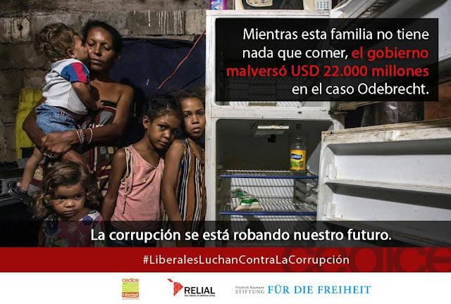 ¡La corrupción es criminal!