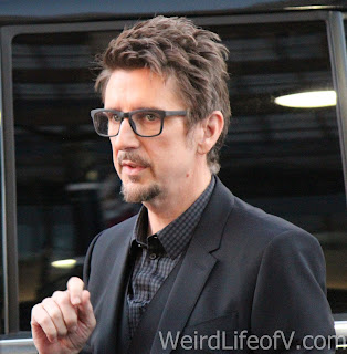 Doctor Strange director Scott Derrickson arrives at the Doctor Strange premiere