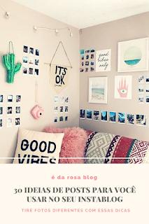ideias para instagram