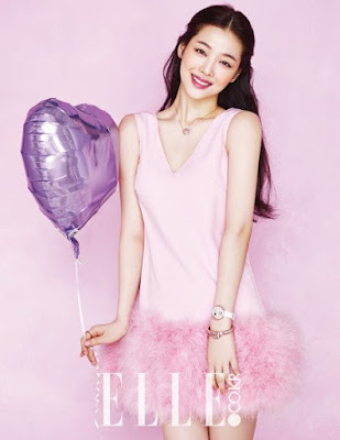 Sulli Elle March 2016