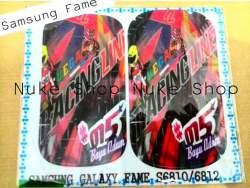 garskin, skin, skotlet, stiker, gambar tempel, handphone Samsung Fame custom gambar atau foto