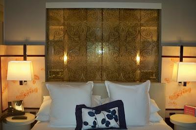 The hopeful traveler wraparound terrace suite bedroom at - Cosmopolitan las vegas terrace one bedroom ...