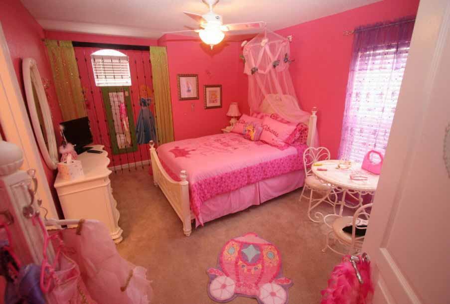 Warna Cat Kamar Anak Perempuan Pink Lucu