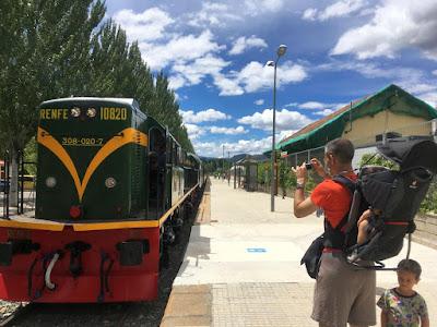 Locomotora del Tren dels Llacs