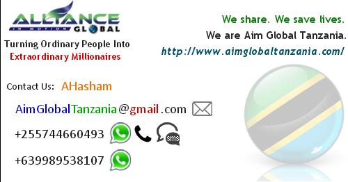 aim global tanzania office address location