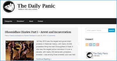 daily panic blog